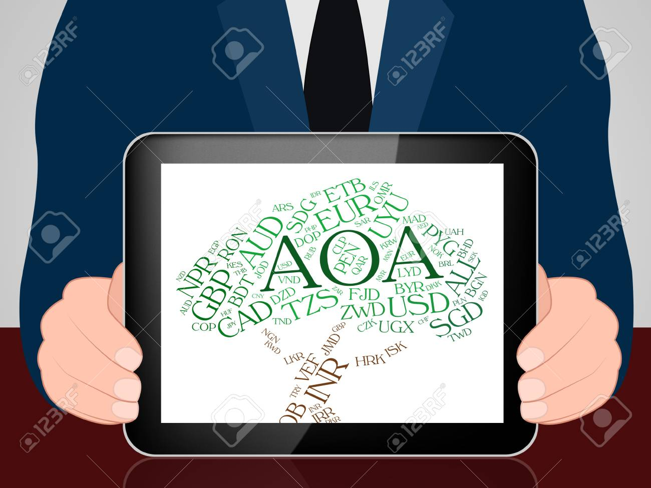 aoa currency meaning foreign