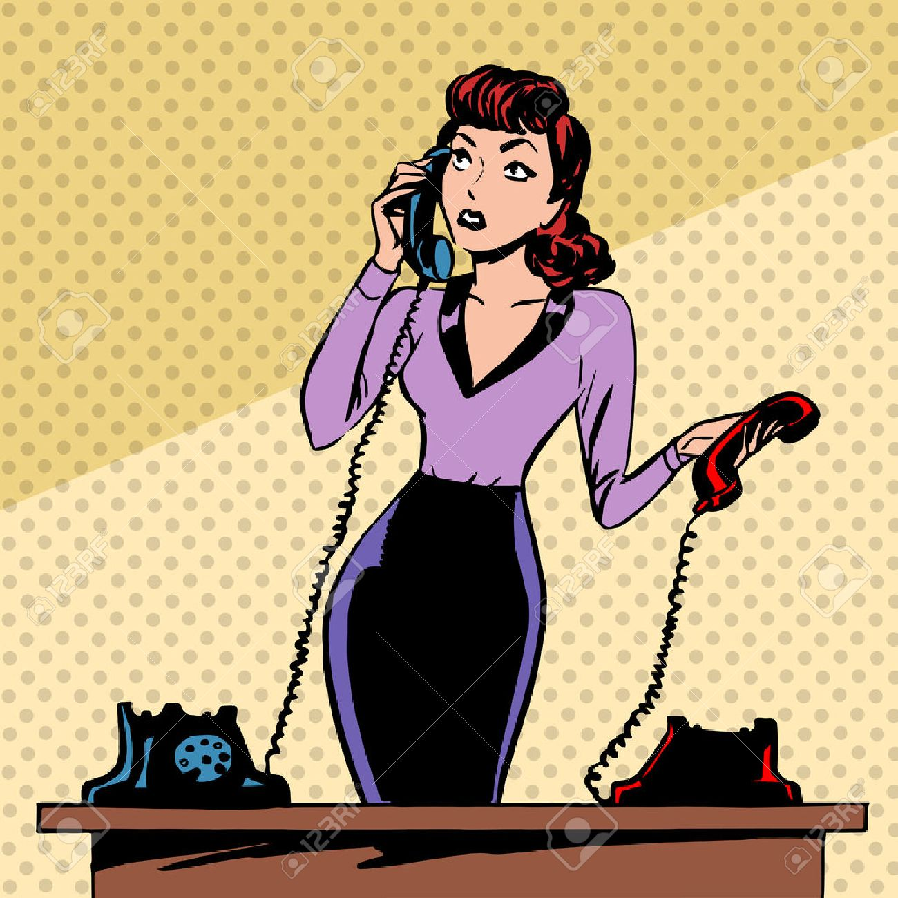 Image result for hello telephone pop art