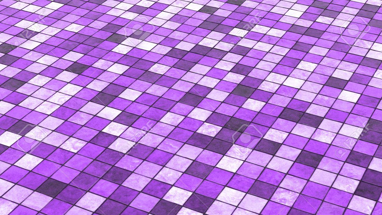 background violet colored floor tiles 02