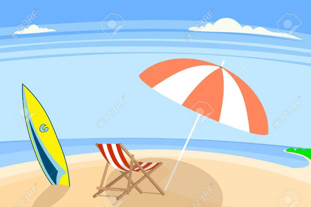 medium resolution of sandy beach sea shore vector illustration stock vector 62854363