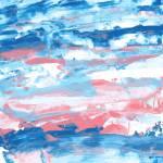 Pink Turquoise Navy Blue Indigo Marina Pastel Watercolor Royalty Free Cliparts Vectors And Stock Illustration Image 104870622