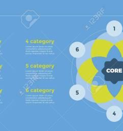 venn diagram with six circles element of presentation diagram layout concept for [ 1300 x 731 Pixel ]