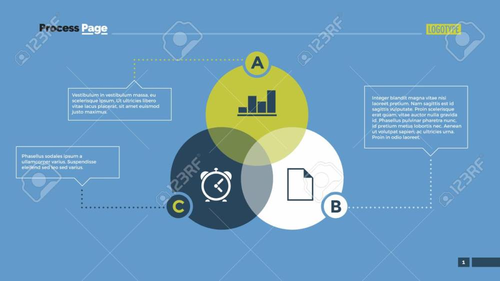 medium resolution of infographic venn diagram with abc letters element of layout presentation diagram concept