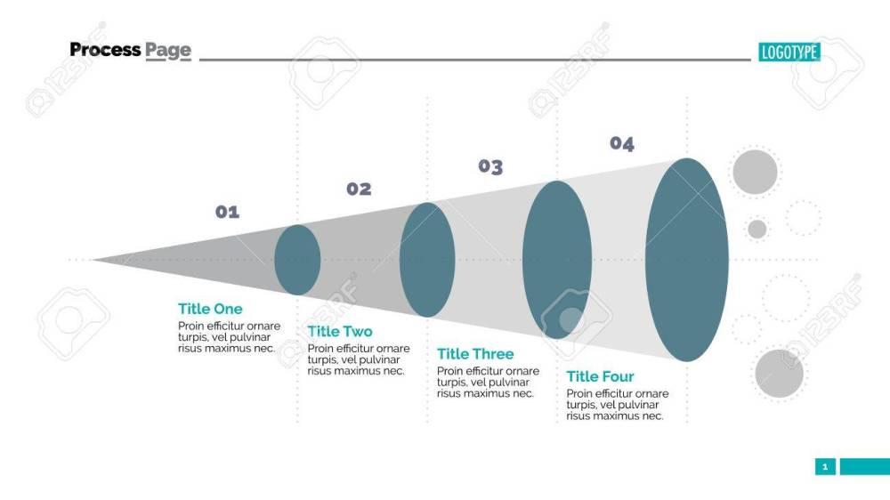 medium resolution of funnel diagram slide template business data graph process chart design concept