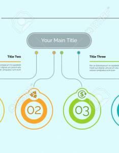 Four ideas process chart slide template business data startup flow design also rh rf