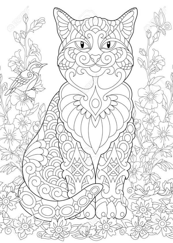 garden coloring page # 53