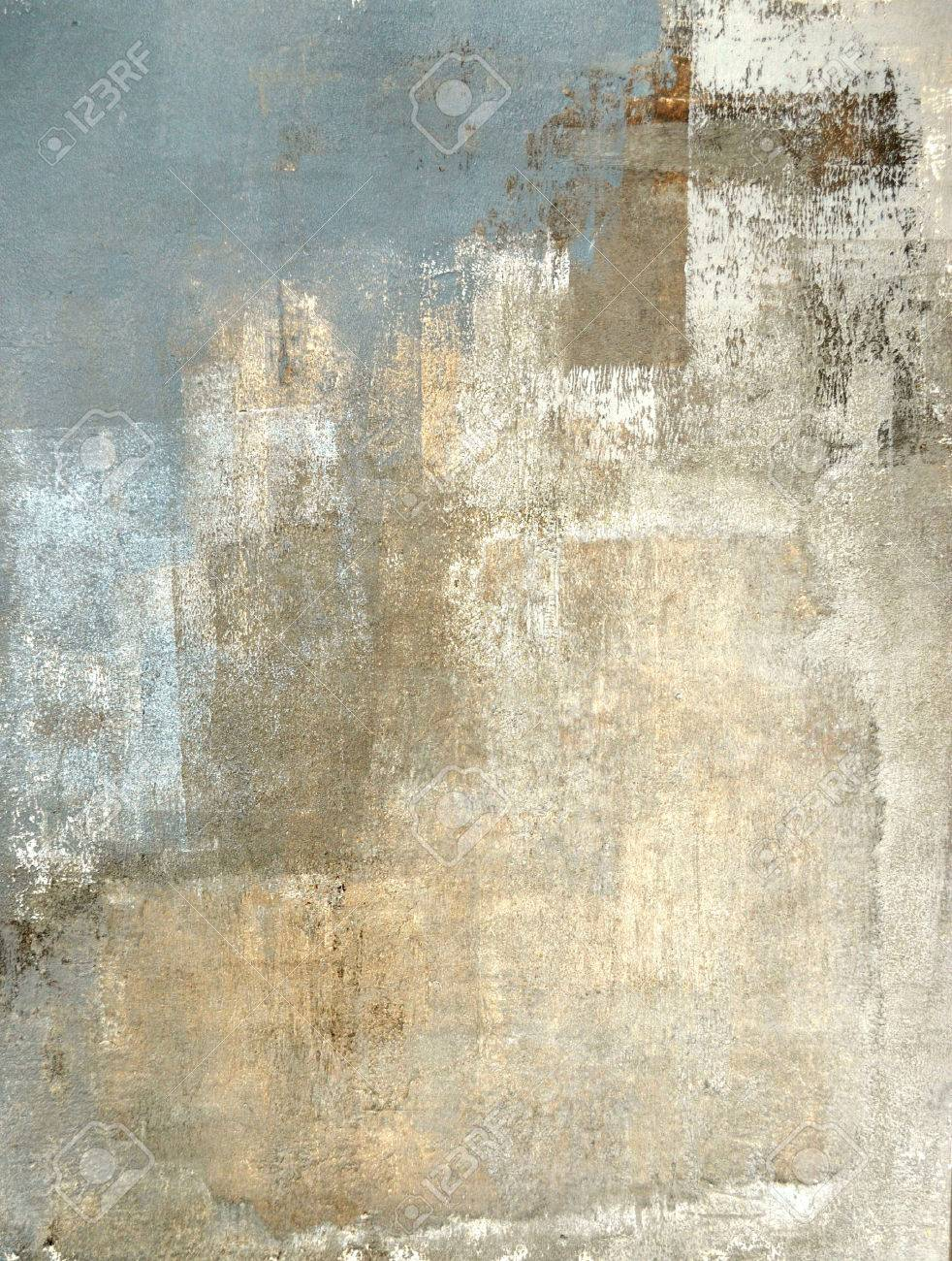 grey and beige abstract