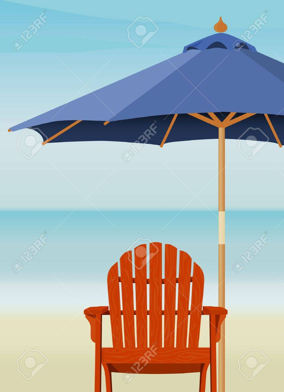 Beach Chairs With Umbrella Adirondack Chair And Market Umbrella At Beach Chair And Umbrella