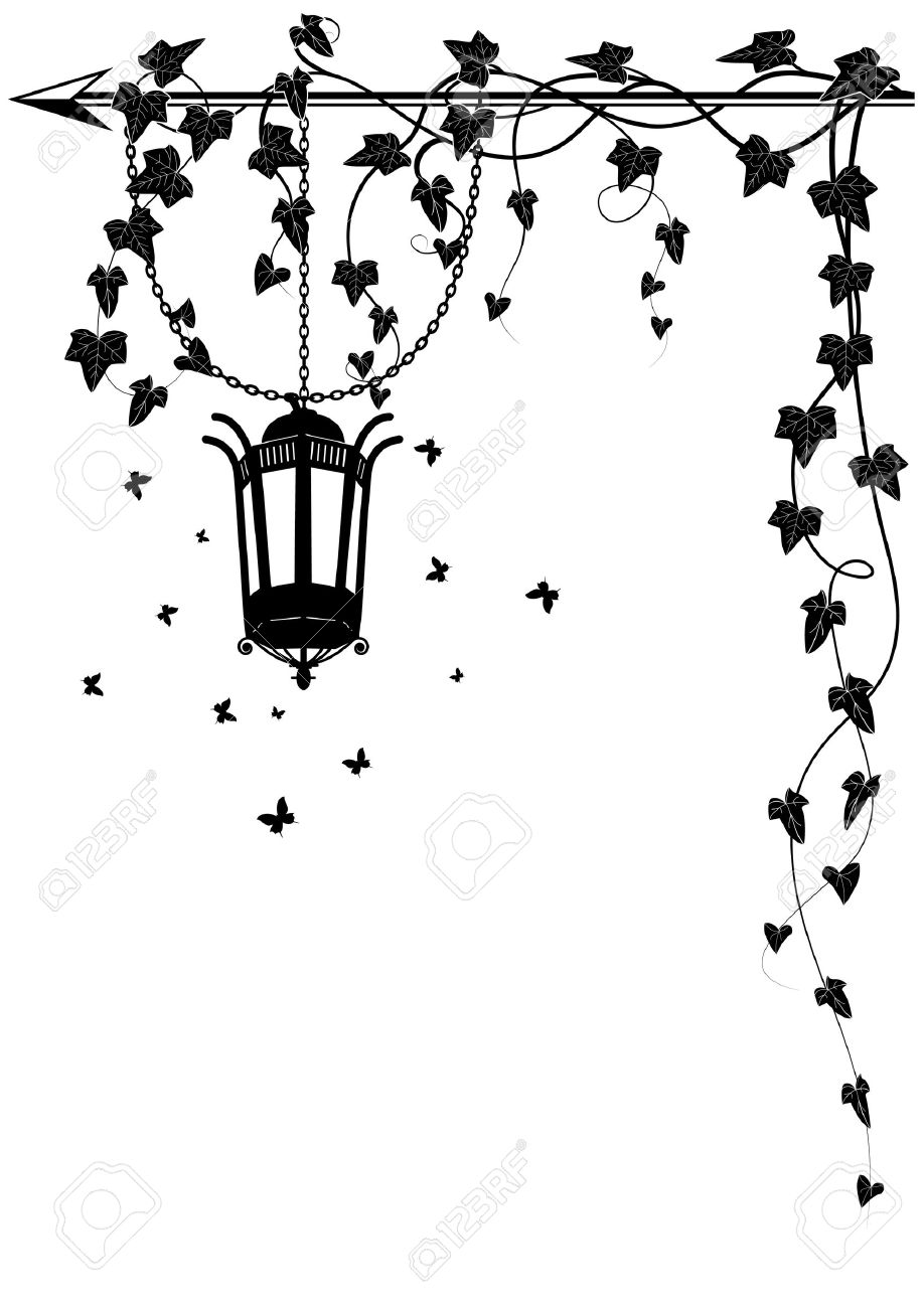 Such as png, jpg, animated gifs, pic art, symbol, blackandwhite, images, etc. Vector Border With Street Lamp Butterflies And Ivy For Corner Design Royalty Free Cliparts Vectors And Stock Illustration Image 29474280