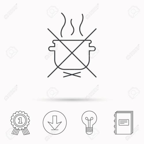 small resolution of boiling saucepan icon do not boil water sign cooking manual attenction symbol download