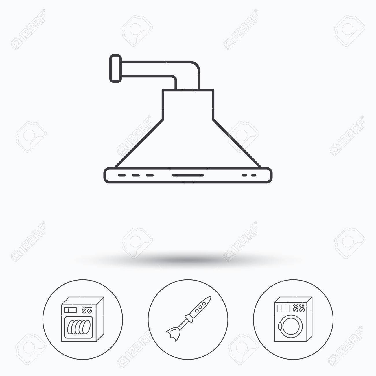 Salz Geschirrspuler Zeichen Integrierte Geschirrspuler In