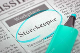 Image result for hiring Store Keeper
