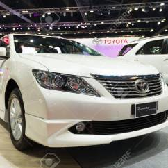All New Toyota Camry Thailand Ukuran Velg Grand Veloz March 26 Extremo On Display At Stock Photo The 34st Bangkok International Motor Show 2013 In