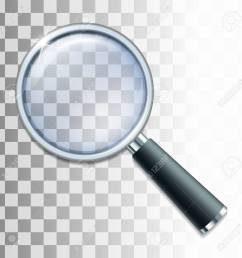 magnifying glass on transparent background vector illustration stock vector 61860942 [ 1300 x 1300 Pixel ]