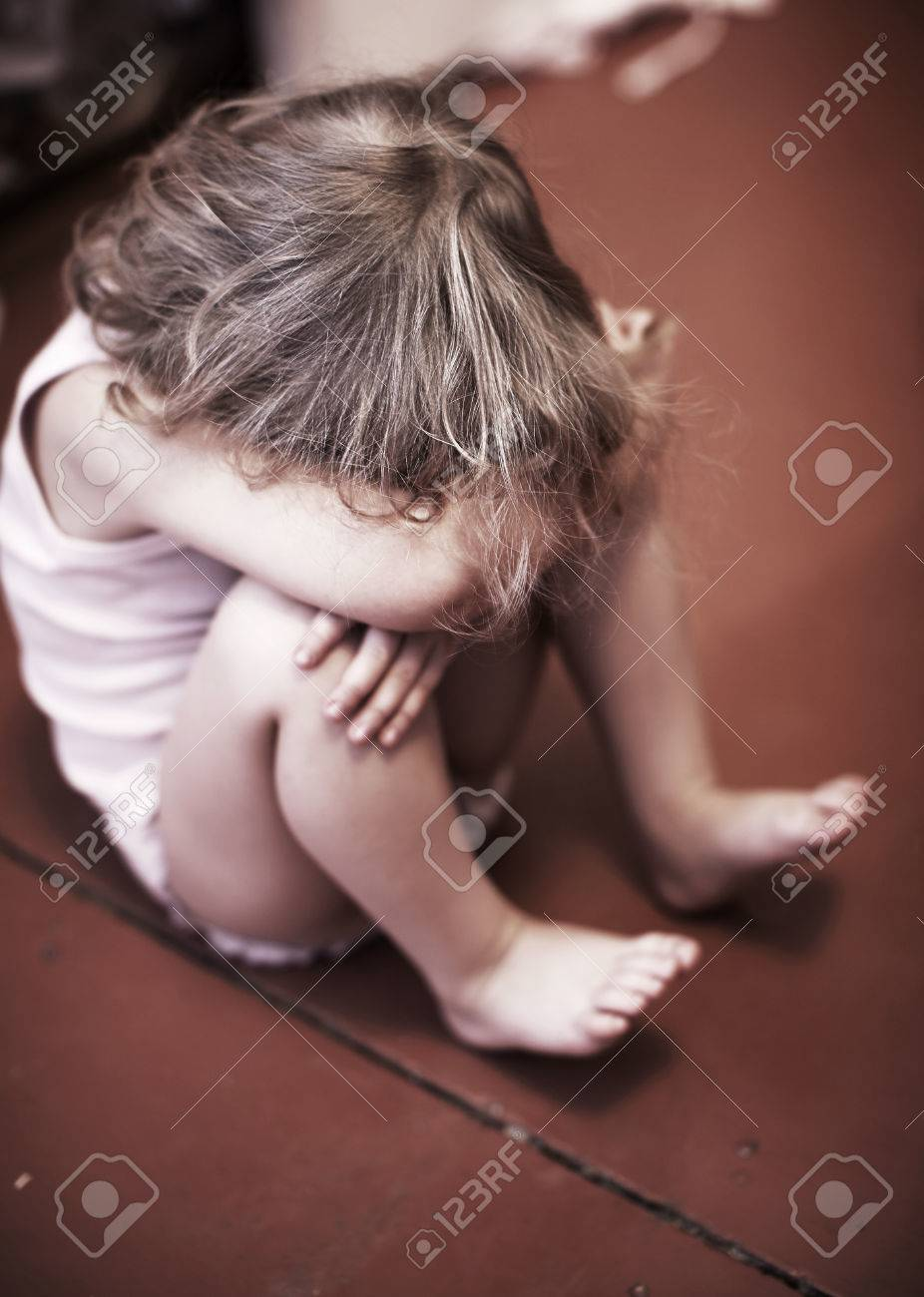 Sad Baby Girl Photo : photo, Baby., Crying, Little, Stock, Photo,, Picture, Royalty, Image., Image, 73753883.