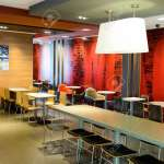 Shenzhen China May 25 2015 Interior Of Mcdonald S Restaurant Stock Photo Picture And Royalty Free Image Image 53272642