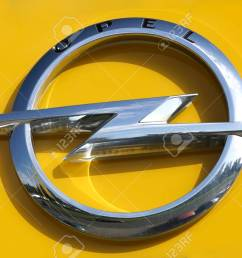 stock photo wetzlar germany july 2017 opel logo on a showroom facade opel ag is a german automobile manufacturer based in r sselsheim am main germay  [ 1300 x 866 Pixel ]