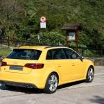 Audi S3 Sportback 2013 Model With Yellow Colour Super Hot Sport Stock Photo Picture And Royalty Free Image Image 26943171