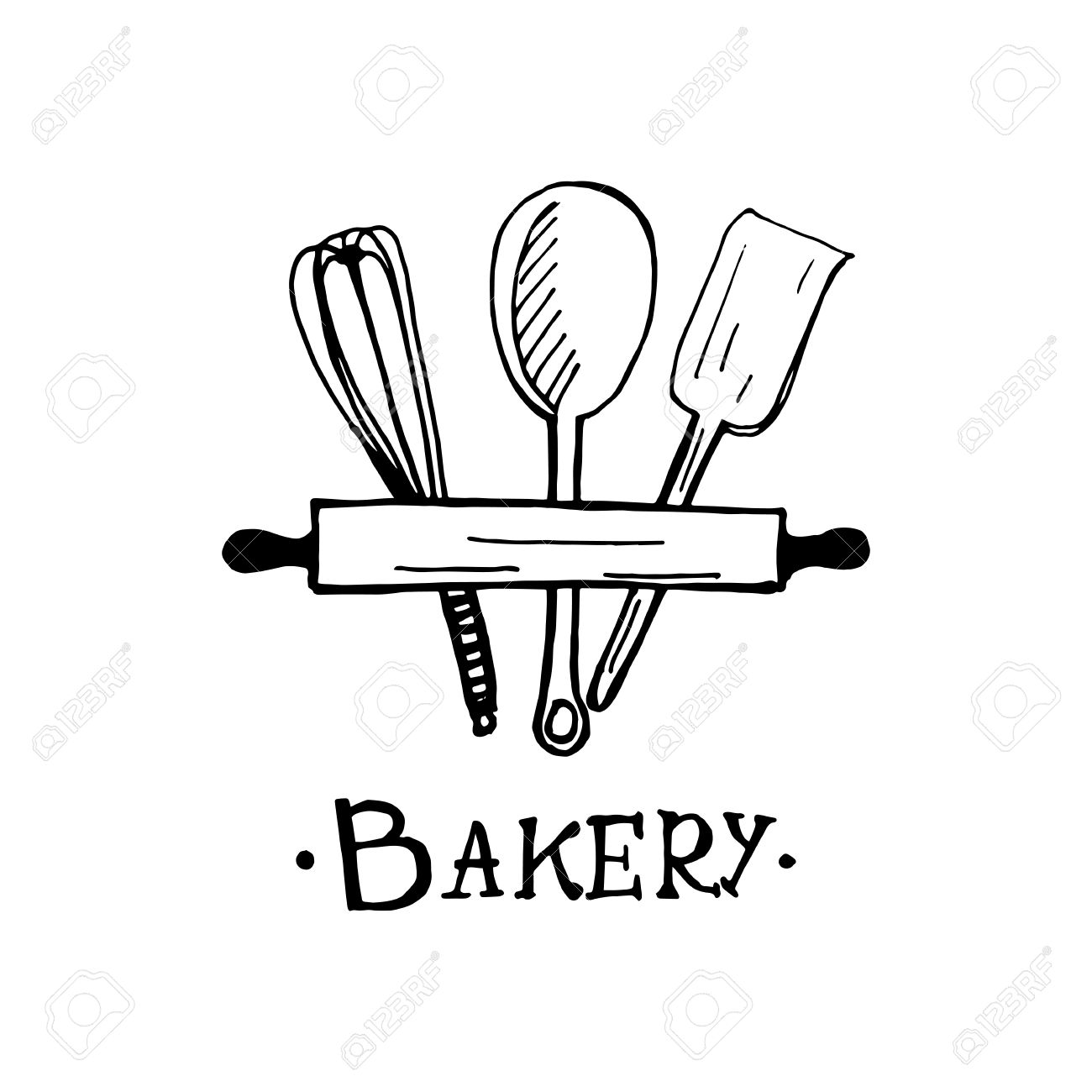 Bakery Logo Design An Idea For Cafe Bakeshop Maffin Shop