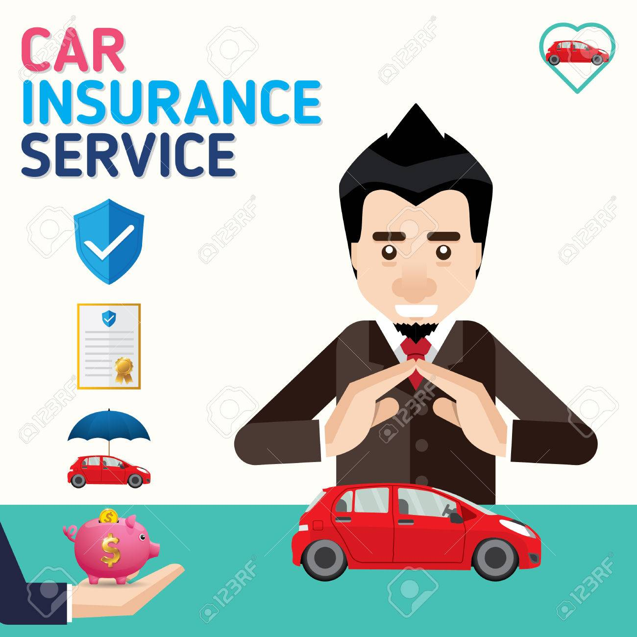 Available for pc, ios and android. Car Insurance Business Service Icons Template Can Be Used For Workflow Layout Banner Diagram Vector Illustration Royalty Free Cliparts Vectors And Stock Illustration Image 68535731