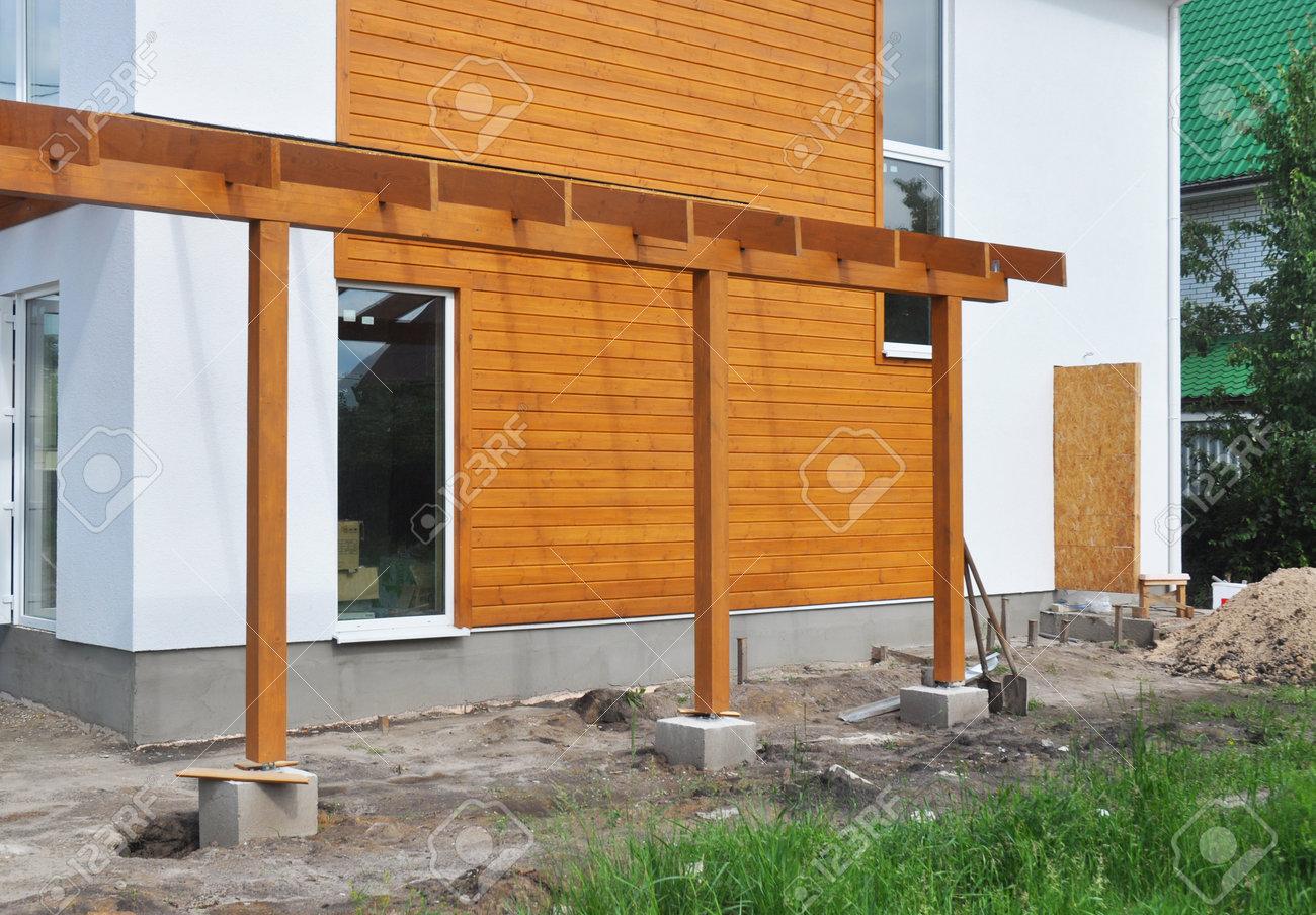 Terrasse Moderne En Bois