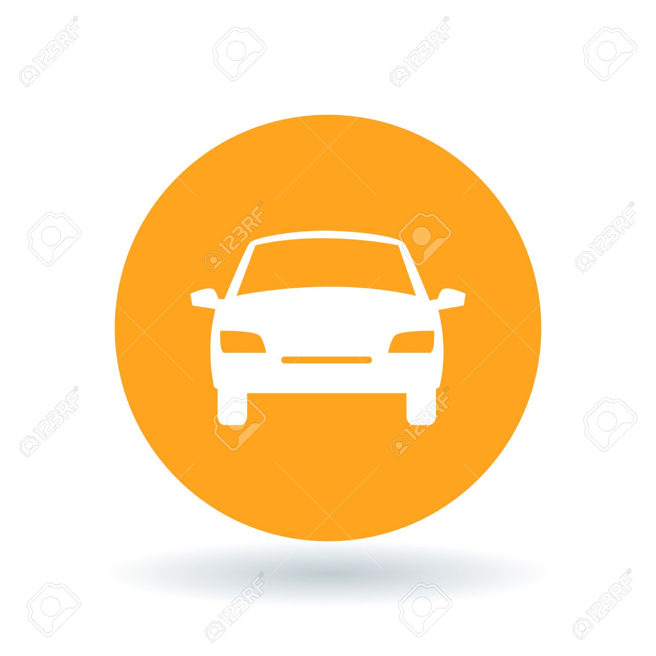 front of car icon