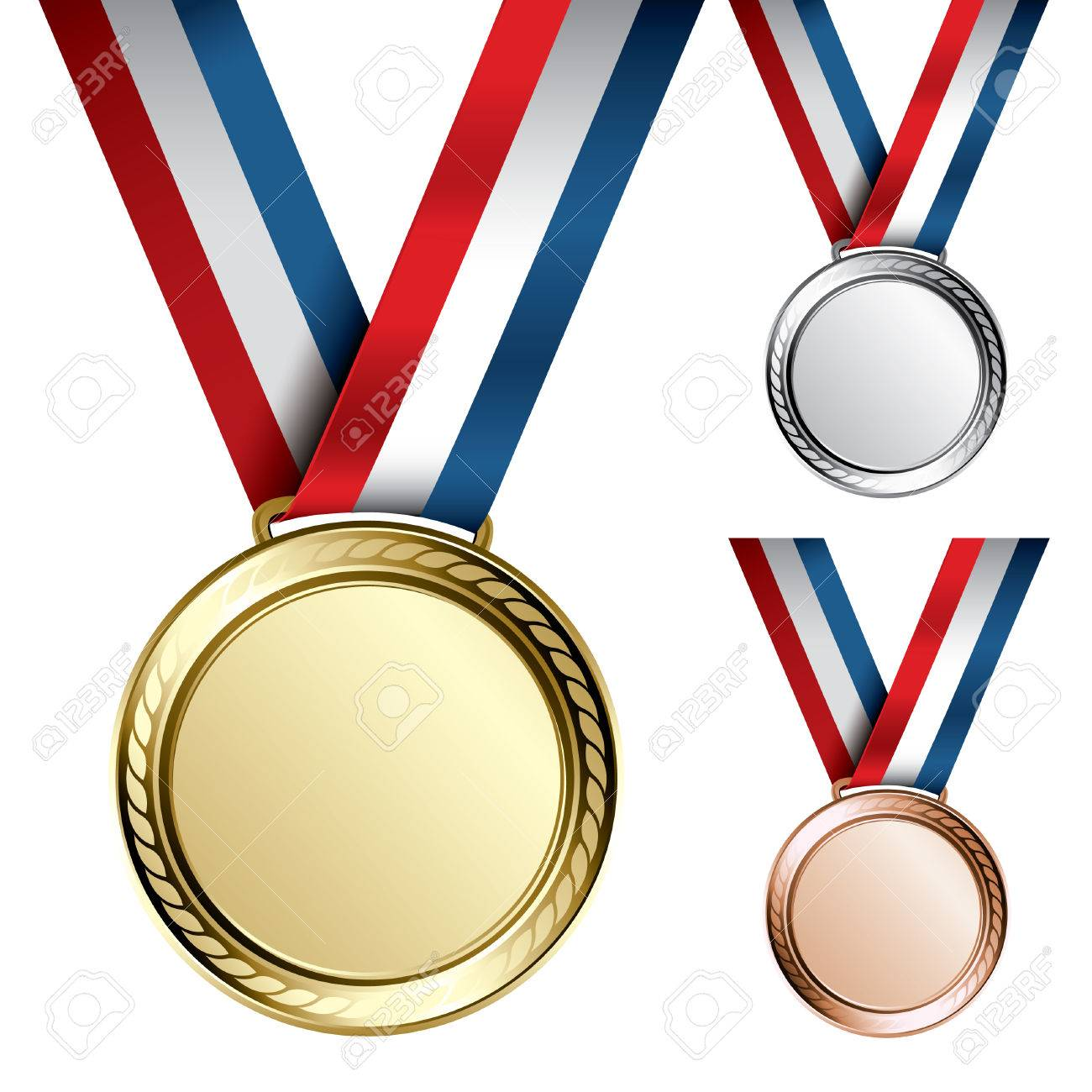 hight resolution of olympic silver medal clipart