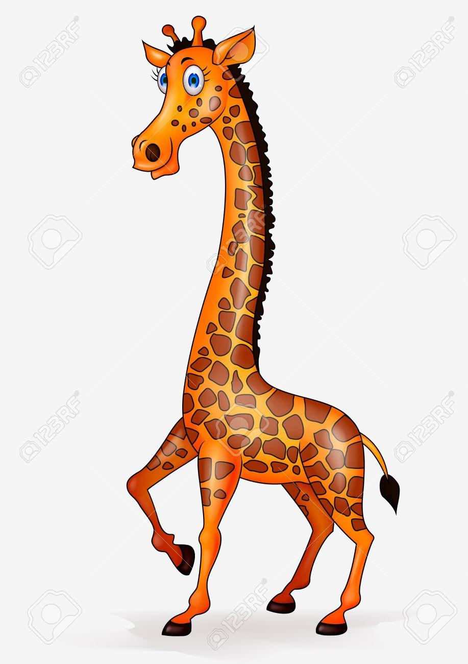 hight resolution of giraffe cartoon