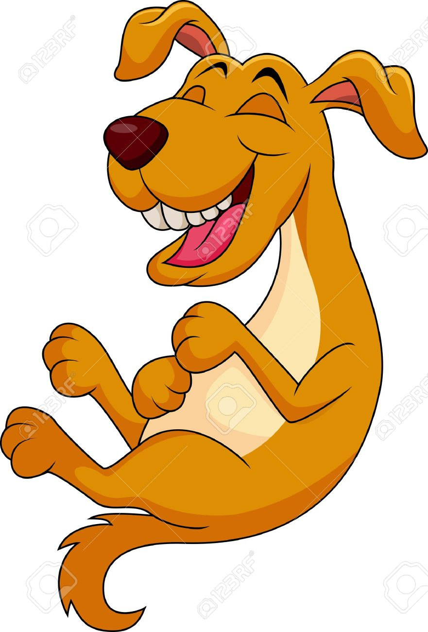 Cartoon Dogs Laughing : cartoon, laughing, Cartoon, Laughing, Royalty, Cliparts,, Vectors,, Stock, Illustration., Image, 19119561.