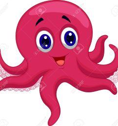 octopus cartoon stock vector 23517215 [ 1300 x 1222 Pixel ]