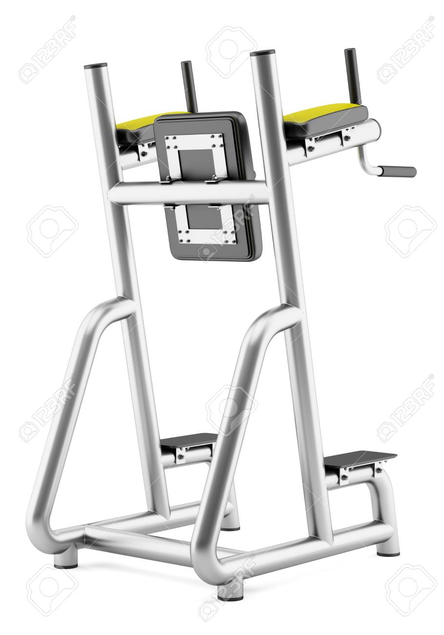 Roman Chair Gym Roman Chair Isolated On White Background