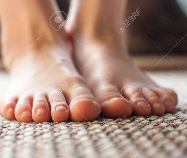 Close Up Of A Pair Of Young Boys Feet Stock Photo 60108357