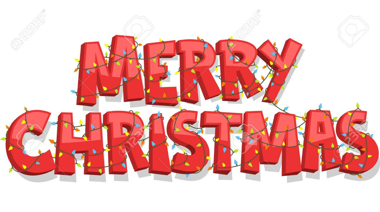 merry christmas banner sign