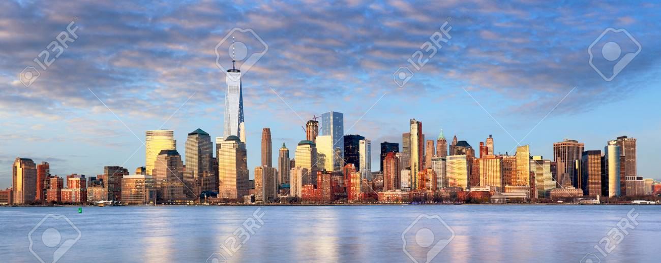 new york paysage urbain etats unis