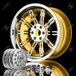 3d Wheels And Accessories Of Cars In The Background Stock Photo Picture And Royalty Free Image Image 27834915