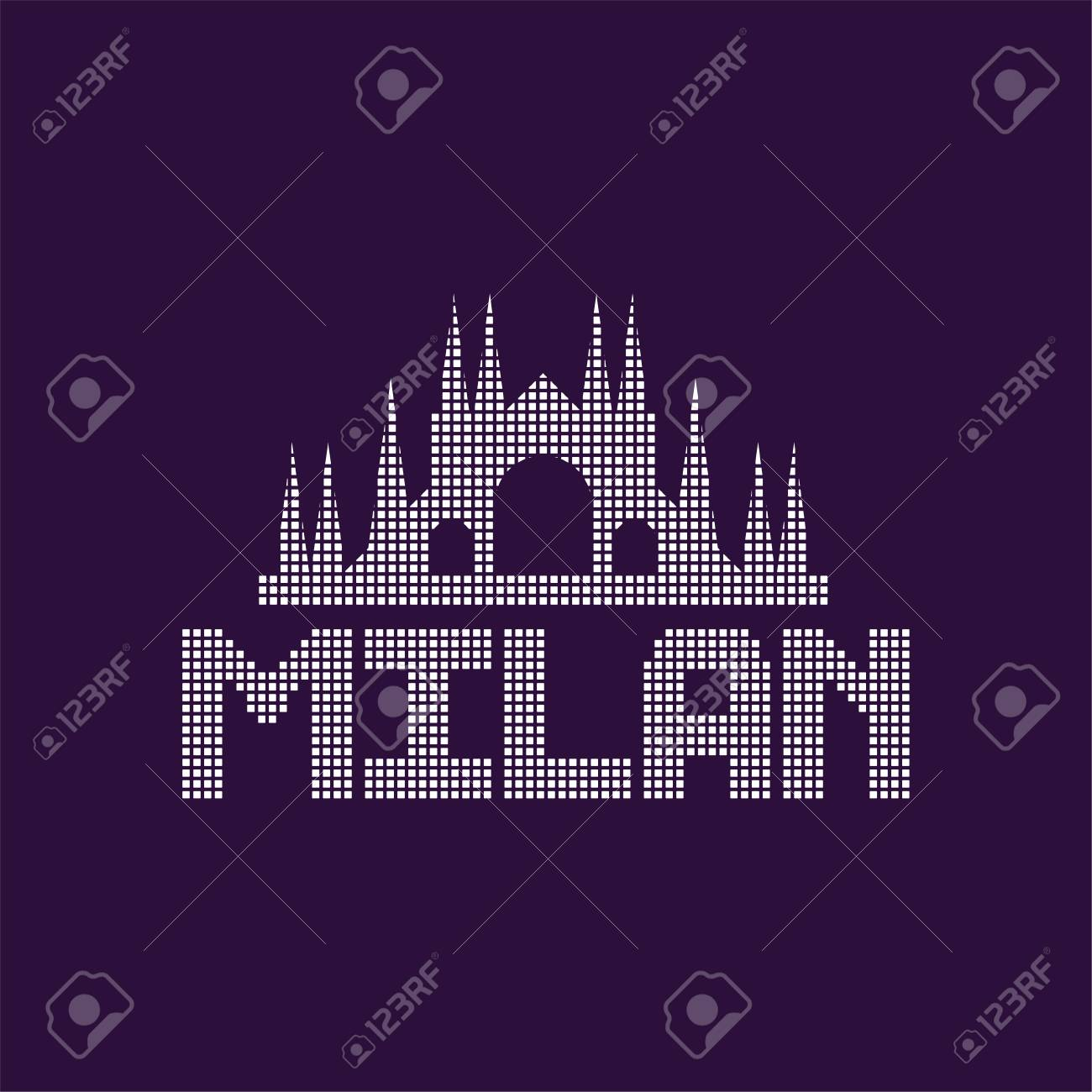 Original Of Milan City With Caption Cathedral Architecture