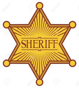 Image result for star sheriff badge