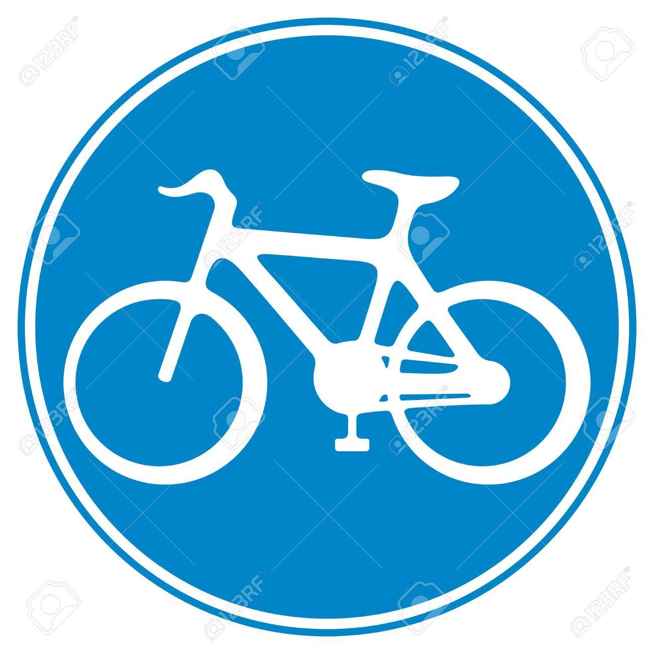 bicycle lane sign sign