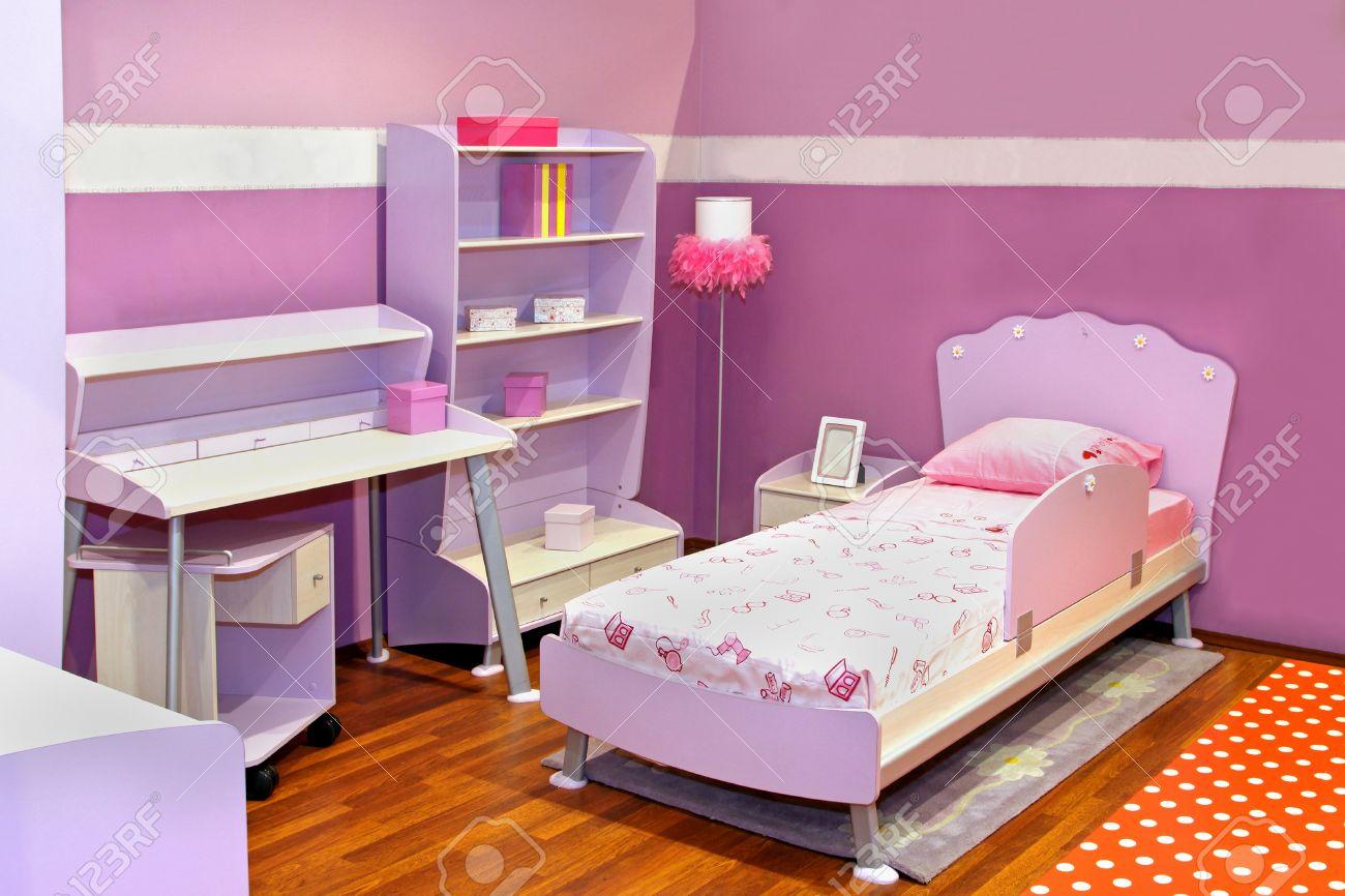 modern child bedroom interior