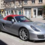 Furth Germany May 6 2018 Silver Porsche Boxster Roadster Stock Photo Picture And Royalty Free Image Image 128308946