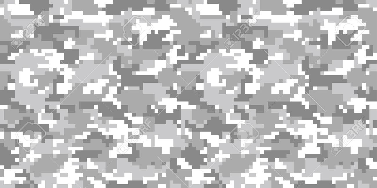 digital camouflage background seamless