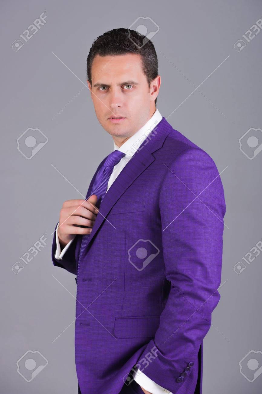 handsome businessman confident man