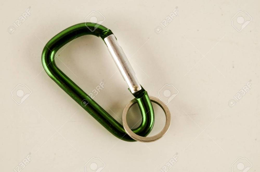 medium resolution of metal aluminum snap hook isolated background safety lock carabiner for rope climbing stock photo 95726532