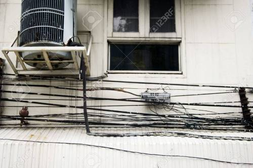 small resolution of crazy wiring in bangkok stock photo 2575542