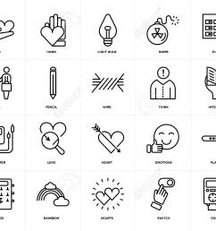 set of 20 icons such as voltmeter switch hearts rainbow fuse box [ 1300 x 1053 Pixel ]