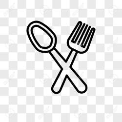 Restaurant Vector Icon Isolated On Transparent Background Restaurant Royalty Free Cliparts Vectors And Stock Illustration Image 106769586