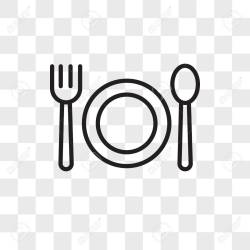 Restaurant Vector Icon Isolated On Transparent Background Restaurant Royalty Free Cliparts Vectors And Stock Illustration Image 108271428