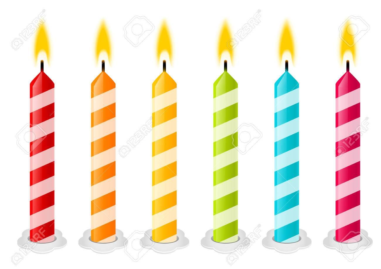 set of color birthday