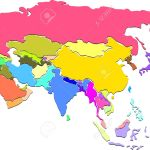 Colorful Asia Map Royalty Free Cliparts Vectors And Stock Illustration Image 20479183