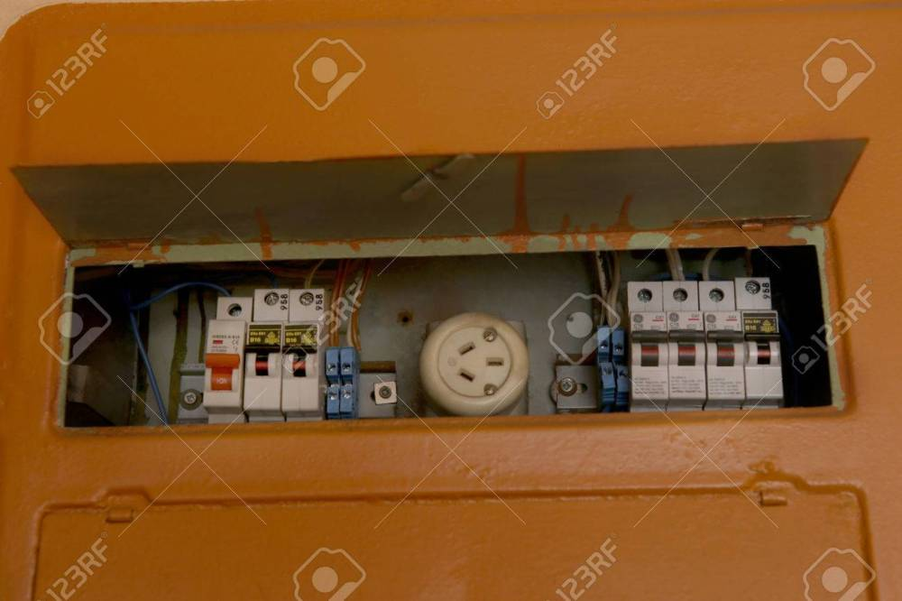 medium resolution of home fuse box electrical equipment old fusebox in house stock photo 70259413